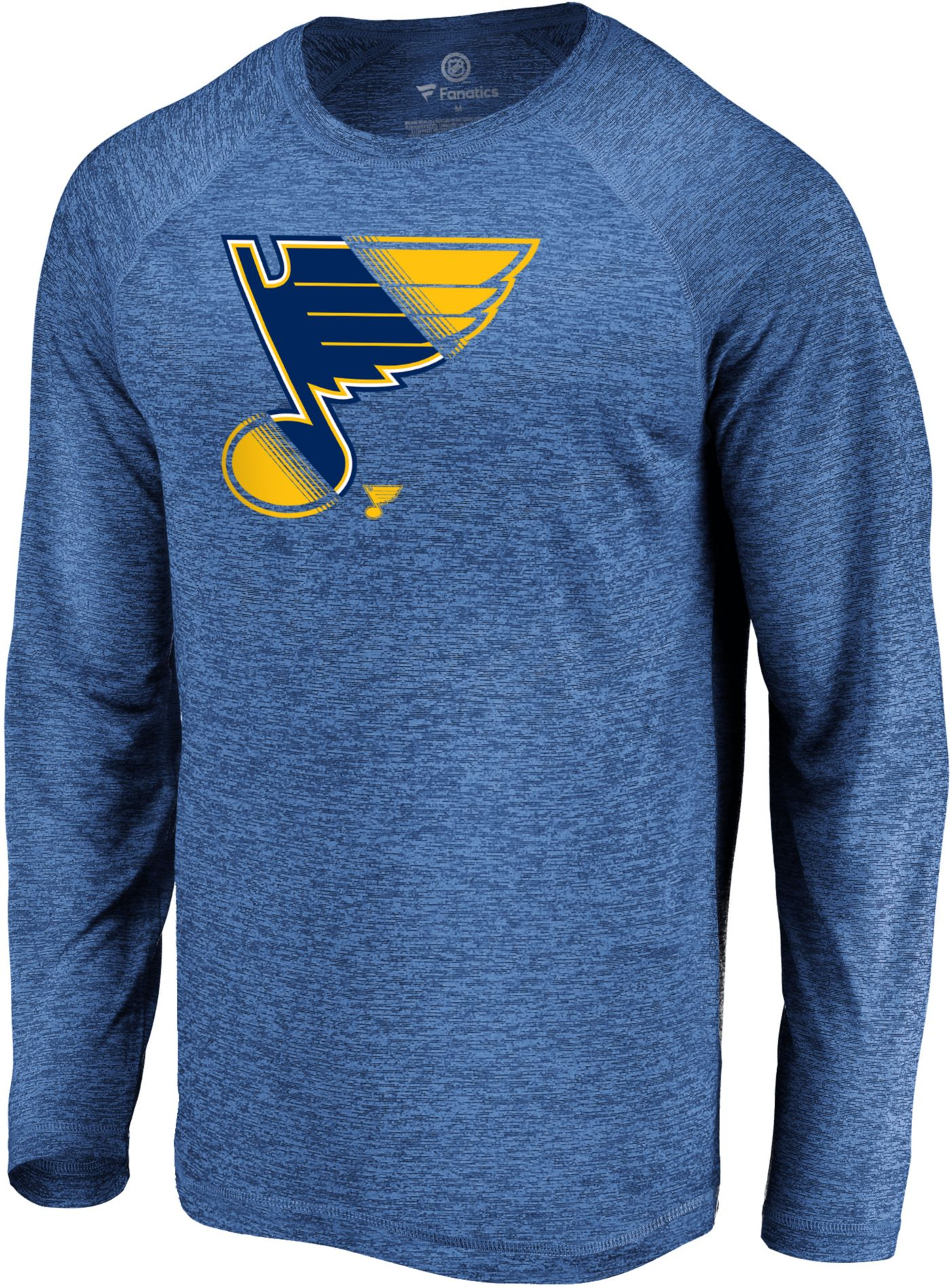 NHL Men's St. Louis Blues Vital Royal Long Sleeve Shirt