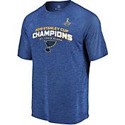 NHL Men's 2019 Stanley Cup Champions St. Louis Blues Line T-Shirt