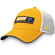 NHL Men's St. Louis Blues Iconic Mesh Adjustable Hat
