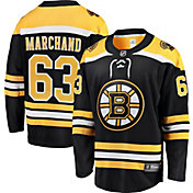 NHL Men's Boston Bruins Brad Marchand #63 Breakaway Home Replica Jersey