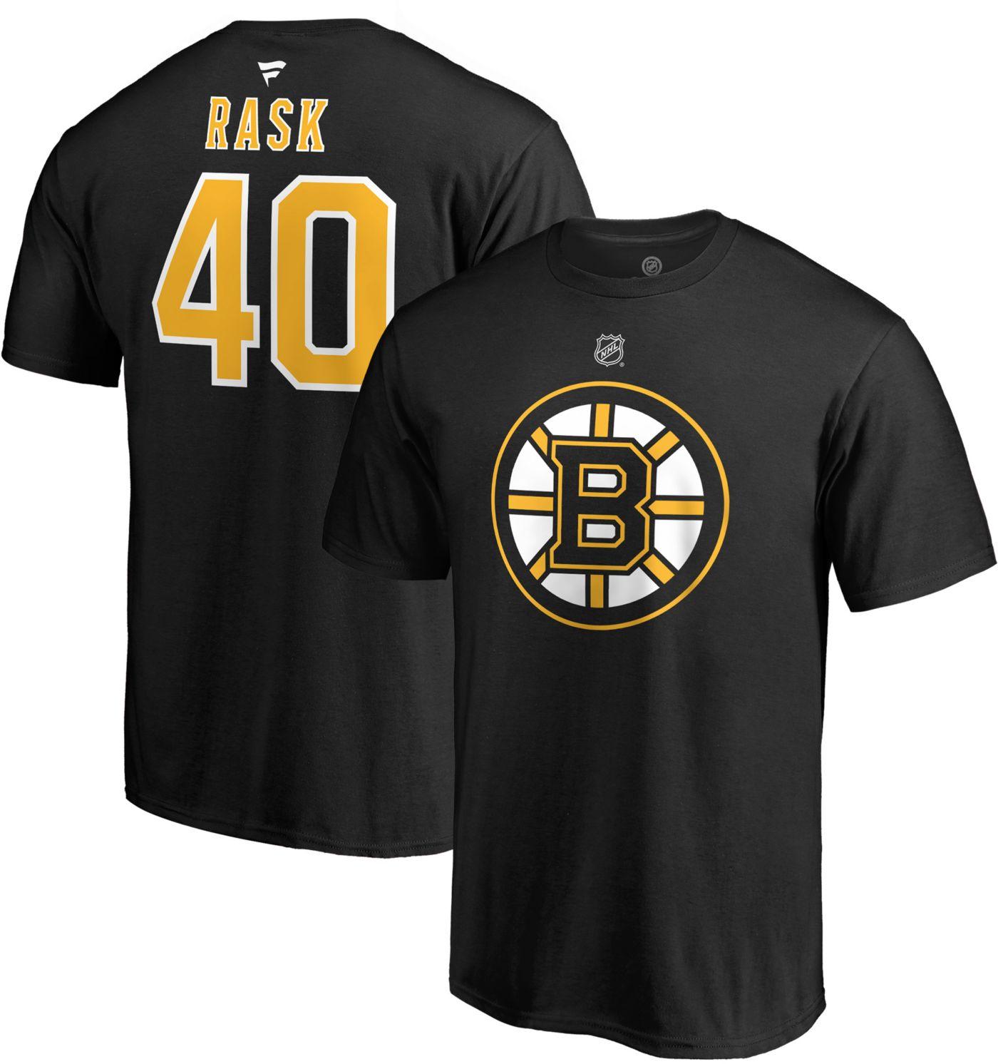 NHL Men's Boston Bruins Tuukka Rask #40  Player T-Shirt