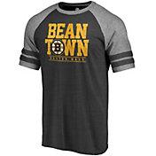 NHL Men's Boston Bruins Bean Town Black T-Shirt