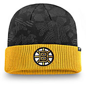 NHL Men's Boston Bruins Iconic Cuff Knit Beanie