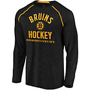 NHL Men's Boston Bruins Destination Black Long Sleeve Shirt