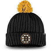 NHL Men's Boston Bruins Pom Knit Beanie