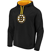 NHL Men's Boston Bruins Logo Black Pullover Hoodie