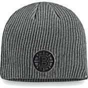 NHL Men's Boston Bruins Marled Tech Knit Beanie