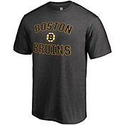NHL Men's Boston Bruins Victory Arch Heather Grey T-Shirt