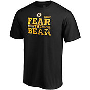 NHL Men's Boston Bruins 2019 NHL Stanley Cup Playoffs 'Fear The Bear' Black T-Shirt