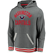 NHL Men's Washington Capitals Upper Class Heather Grey Pullover Hoodie