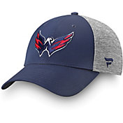 NHL Men's Washington Capitals Logo Navy Flex Hat