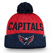 NHL Men's Washington Capitals Fan Weave Pom Knit Beanie