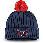 NHL Men's Washington Capitals Pom Knit Beanie