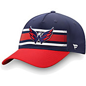 NHL Men's Washington Capitals Alpha Navy Adjustable Hat