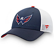 NHL Men's Washington Capitals Trucker Adjustable Hat
