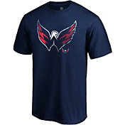 NHL Men's Washington Capitals Slash Dash Navy T-Shirt