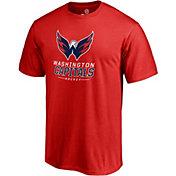 NHL Men's Washington Capitals Lockup Red T-Shirt