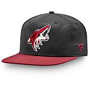NHL Men's Arizona Coyotes Iconic Snapback Adjustable Hat