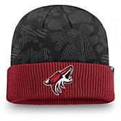 NHL Men's Arizona Coyotes Iconic Cuff Knit Beanie