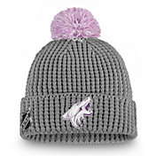 NHL Women's Arizona Coyotes Hockey Fights Cancer Pom Knit Beanie