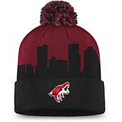 NHL Men's Arizona Coyotes Hometown Maroon Pom Knit Beanie