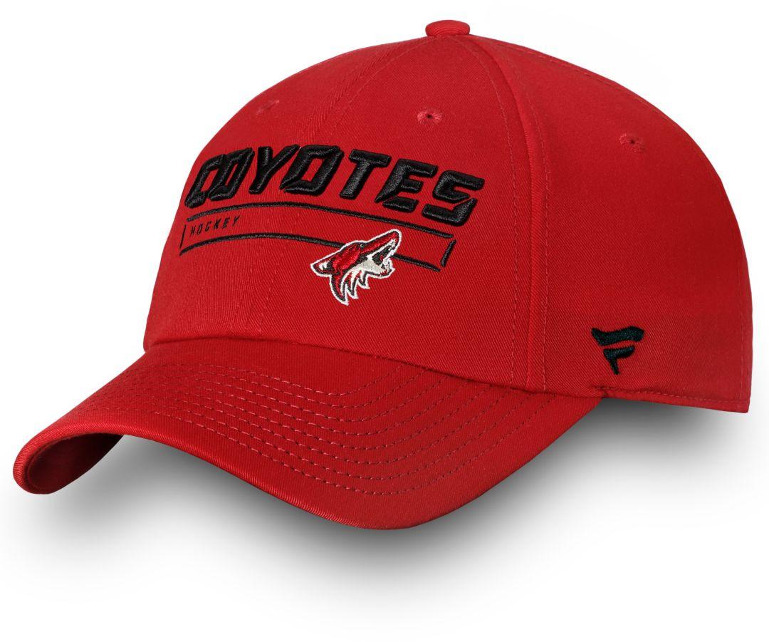 84ac13b3c59 NHL Men s Arizona Coyotes Logo Snapback Adjustable Hat 1