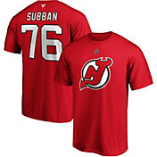 NHL Men's New Jersey Devils P.K. Subban #76 Red Player T-Shirt