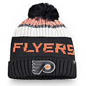 NHL Men's Philadelphia Flyers Rinkside Pom Knit Beanie