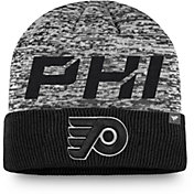 NHL Men's Philadelphia Flyers Clutch Cuffed Knit Beanie