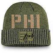 NHL Men's Philadelphia Flyers Modern Utility Cuff Knit Beanie
