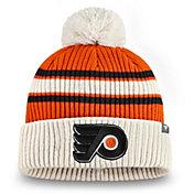 NHL Men's Philadelphia Flyers Classic Pom Knit Beanie