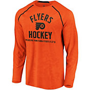 NHL Men's Philadelphia Flyers Destination Orange Long Sleeve Shirt