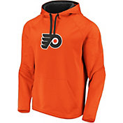 NHL Men's Philadelphia Flyers Logo Orange Pullover Hoodie