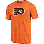 NHL Men's Philadelphia Flyers Throwback Orange T-Shirt