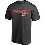 NHL Men's Carolina Hurricanes Authentic Pro Grey T-Shirt