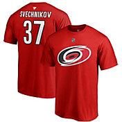 NHL Men's Carolina Hurricanes Andrei Svechnikov #37 Red Player T-Shirt