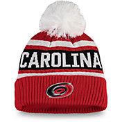 NHL Women's Carolina Hurricanes Pom Knit Beanie
