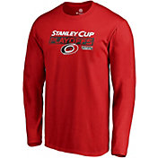 NHL Men's Carolina Hurricanes 2019 NHL Stanley Cup Playoffs Red Long Sleeve Shirt