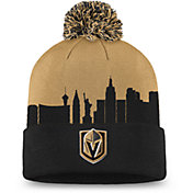 NHL Men's Las Vegas Golden Knights Hometown Black Pom Knit Beanie