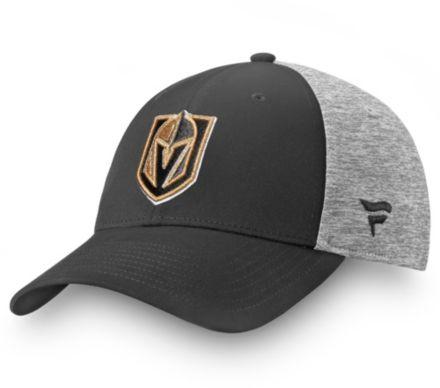 new arrival 9a5c1 1ed6b NHL Men  39 s Vegas Golden Knights Logo Black Flex Hat