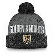 NHL Men's Vegas Golden Knights Fan Weave Pom Knit Beanie