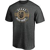 NHL Men's Vegas Golden Knights Grey Circle T-Shirt