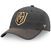 NHL Men's Vegas Golden Knights Fundamental Grey Adjustable Hat