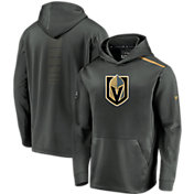NHL Men's Vegas Golden Knights Authentic Pro Rinkside Fleece Heather Grey Pullover Hoodie