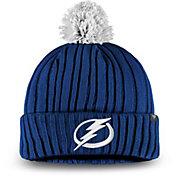 NHL Men's Tampa Bay Lightning Pom Knit Beanie