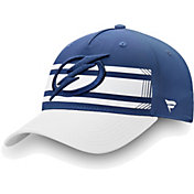 NHL Men's Tampa Bay Lightning Alpha Blue Adjustable Hat