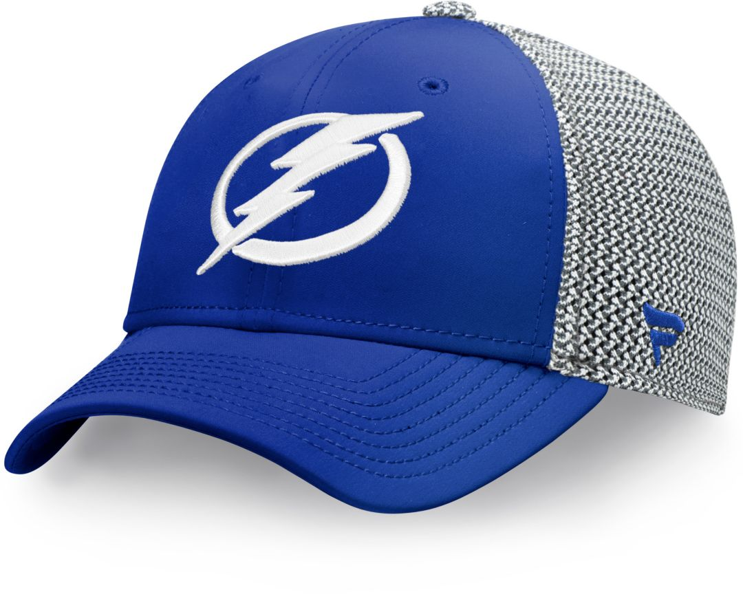 75de23e0 NHL Men's Tampa Bay Lightning Speed Blue Flex Hat