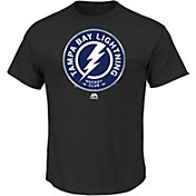 NHL Men's Tampa Bay Lightning Prep Play Black T-Shirt