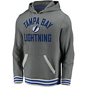 NHL Men's Tampa Bay Lightning Upper Class Heather Grey Pullover Hoodie