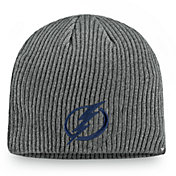 NHL Men's Tampa Bay Lightning Marled Tech Knit Beanie